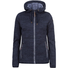 Icepeak Arley Midlayer Jacke Damen dark blue